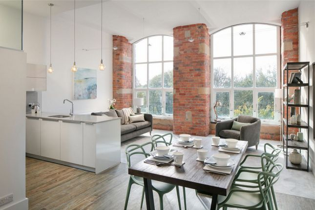 Thumbnail Flat for sale in The Heritage Collection, Clarence Road, Bollington, Macclesfield, Cheshire