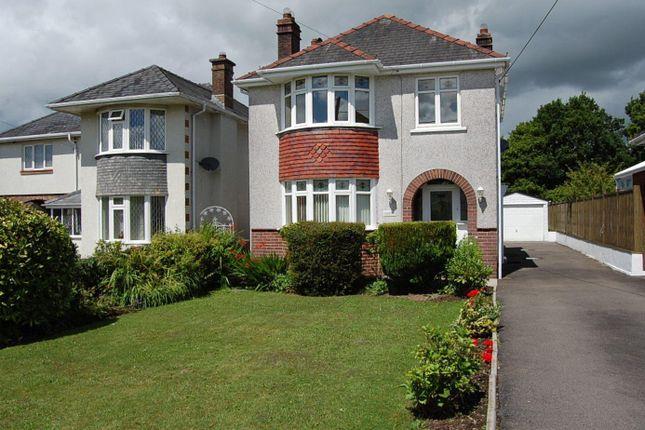 Thumbnail Detached house to rent in Glynhir Road, Llandybie, Ammanford