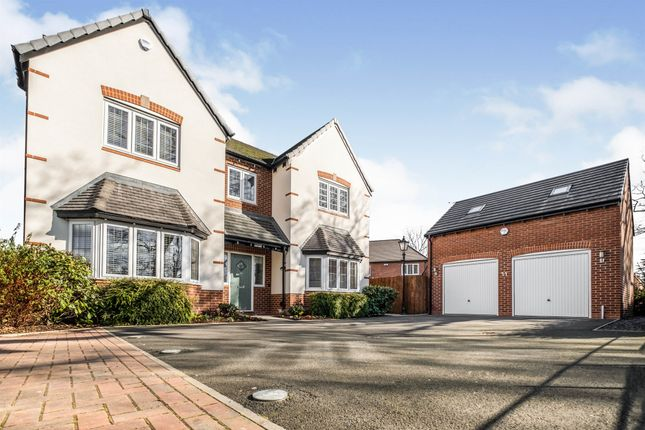 5 bed detached house for sale in Marlpit Close, Shirley, Solihull B90