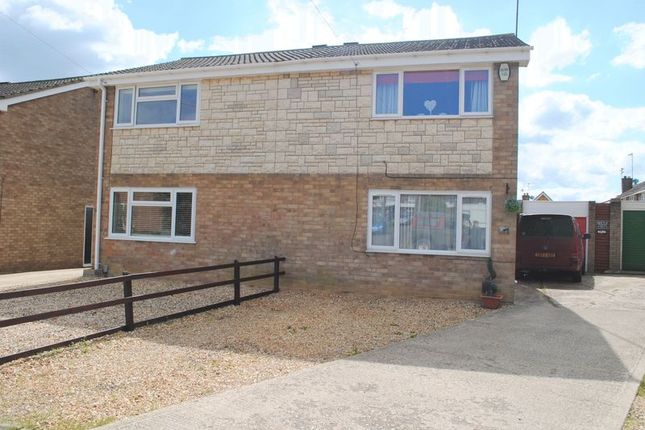 Thumbnail Semi-detached house to rent in Franciscan Close, Rushden