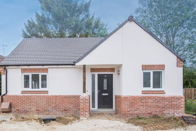 Thumbnail Detached bungalow for sale in Paget Road, Lubenham, Market Harborough