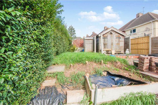 Rear Garden of Newford Crescent, Stoke-On-Trent ST2