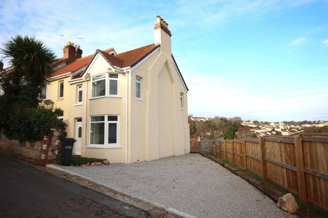 Thumbnail Terraced house to rent in Leys Road, Torquay