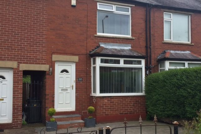 Thumbnail Terraced house to rent in Kenton Road, Gosforth