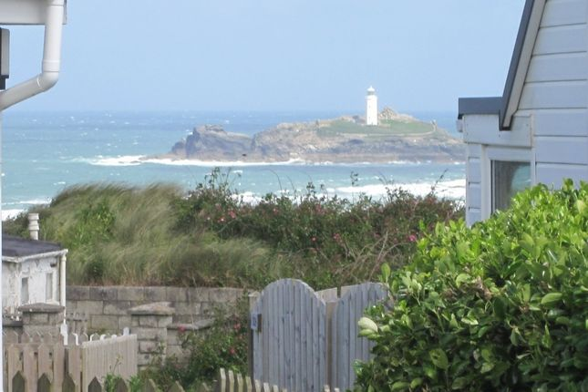 Thumbnail Detached bungalow for sale in Gwithian Towans, Gwithian, Hayle