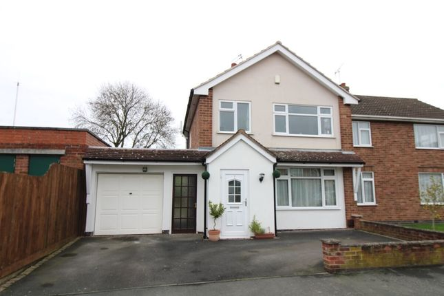 3 bed semi-detached house for sale in Chester Road, Blaby, Leicester LE8
