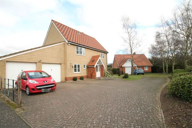 Thumbnail Detached house for sale in Sandling Crescent, Rushmere St Andrew, Ipswich, Suffolk