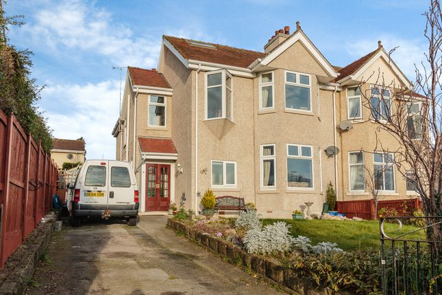 Thumbnail Semi-detached house for sale in Llanrhos Road, Llandudno, Conwy, North Wales