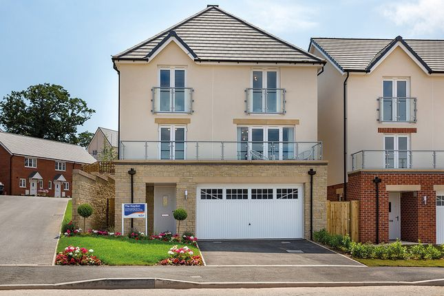 "Thumbnail Detached house for sale in ""The Haydon"" at Chard Road, Axminster"