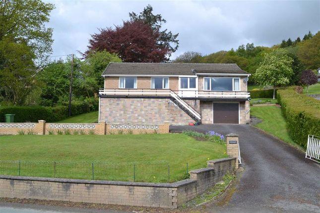 Thumbnail Bungalow for sale in Gerallt, Trefeglwys Road, Llanidloes, Powys