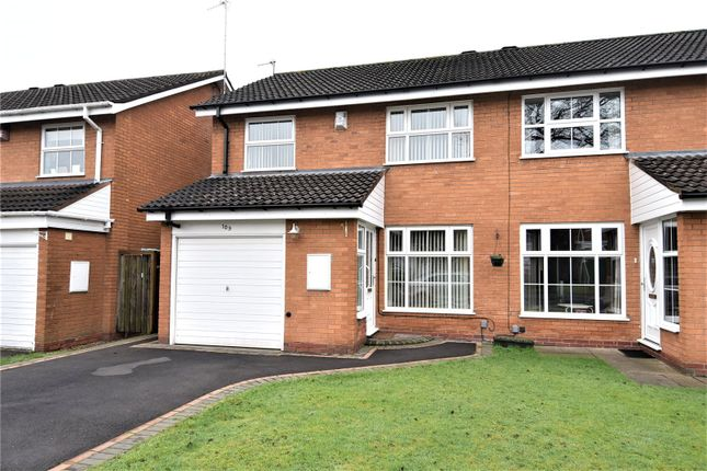 Thumbnail End terrace house for sale in Berberry Close, Bournville, Birmingham