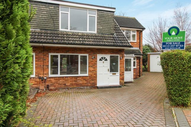 Thumbnail Semi-detached house for sale in Highwood Grove, Moortown, Leeds