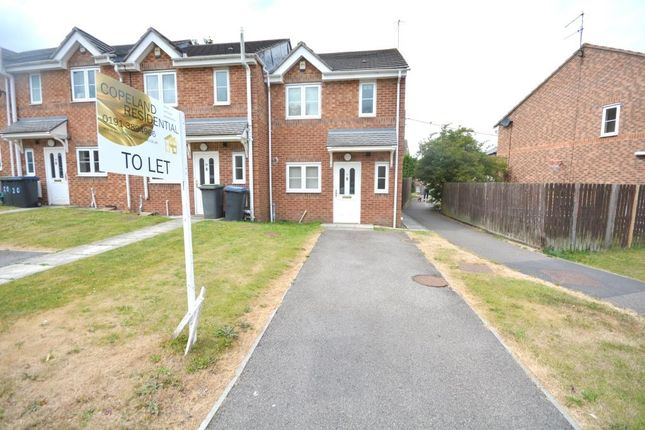 Thumbnail Terraced house to rent in The Woodlands, Langley Park, Durham