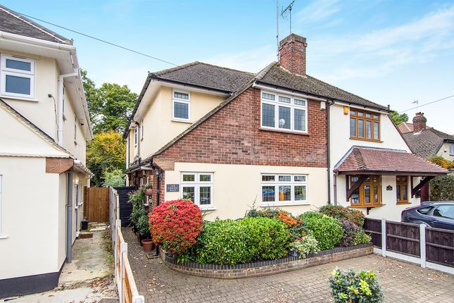 Thumbnail Semi-detached house for sale in Ingrave Road, Brentwood