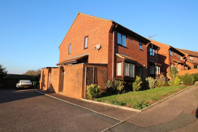 Thumbnail End terrace house to rent in Celia Crescent, Beacon Heath, Exeter