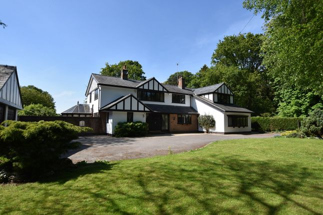 Thumbnail Detached house for sale in Brooks Drive, Hale Barns, Altrincham