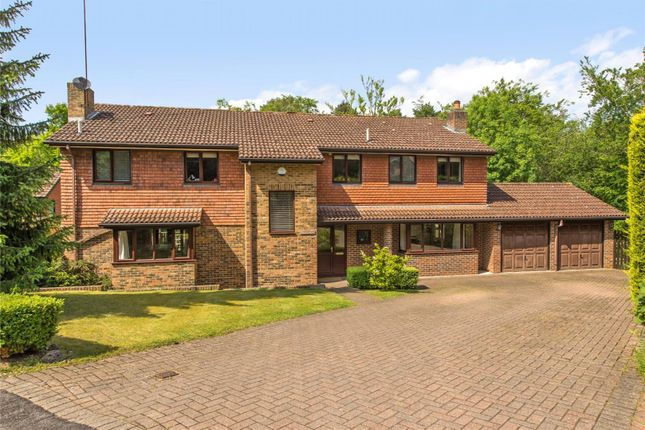 Thumbnail Detached house for sale in Beechwood Drive, Cobham, Surrey