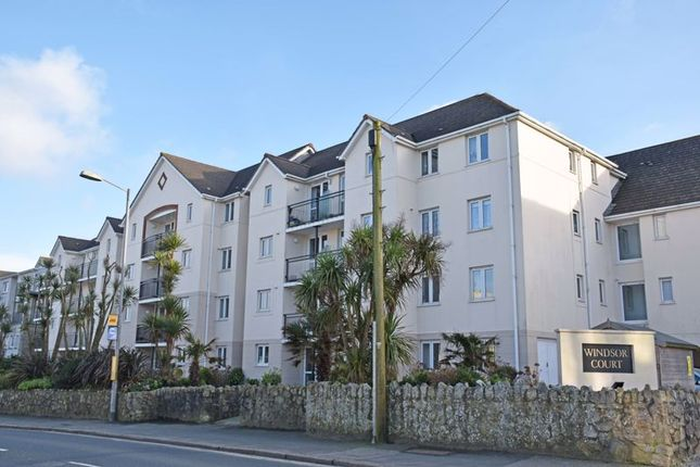 Exterior of Windsor Court, Mount Wise, Newquay TR7