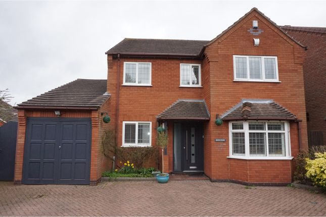 Thumbnail Detached house for sale in Boley Cottage Lane, Lichfield