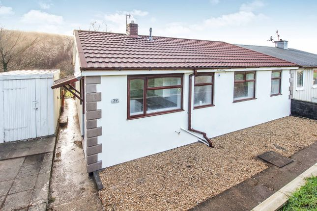 Thumbnail Bungalow for sale in Coronation Crescent, Newbridge, Newport