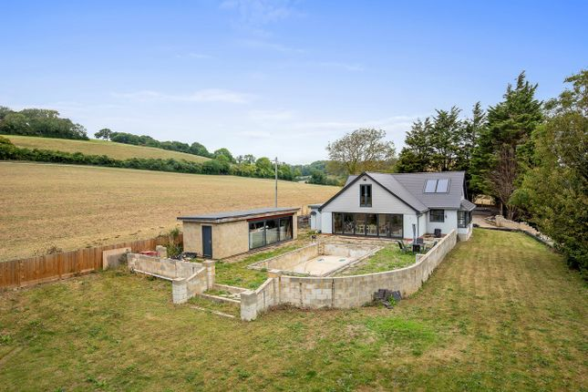 Thumbnail Detached house for sale in Alkham Valley Road, Drellingore, Folkestone