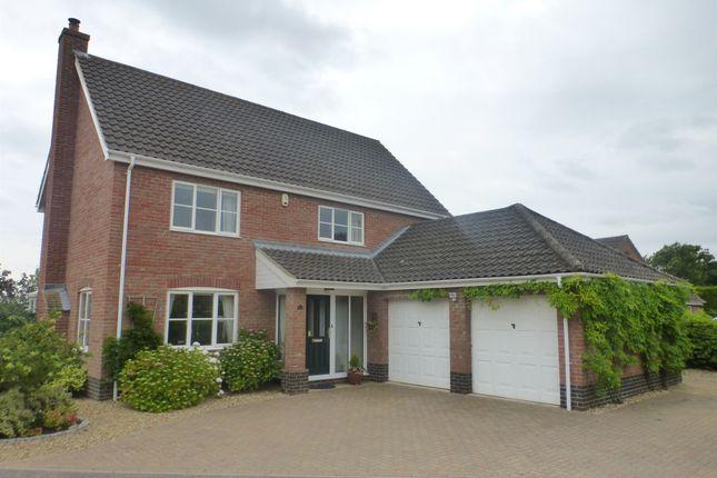 Thumbnail Detached house for sale in Greenacres, Little Melton, Norwich