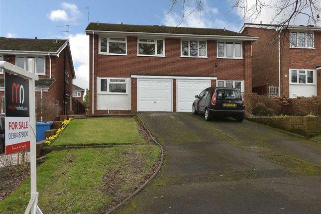 Thumbnail Semi-detached house for sale in Meddins Lane, Kinver, Stourbridge