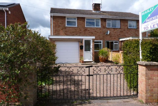 Thumbnail Semi-detached house to rent in Pine Grove, Woburn Sands