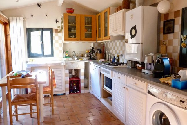 Kitchen of Balloi, Camporosso, Imperia, Liguria, Italy
