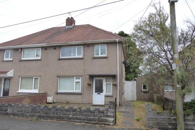 3 bed semi-detached house for sale in Bryneinon Road, Gorseinon, Swansea