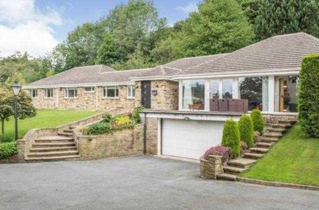 Detached house for sale in Huddersfield Road, New Mill, Holmfirth