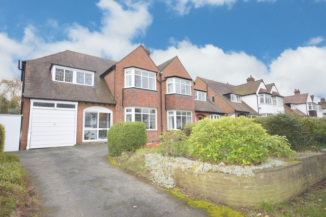 Thumbnail Semi-detached house for sale in Shirley Road, Hall Green, Birmingham