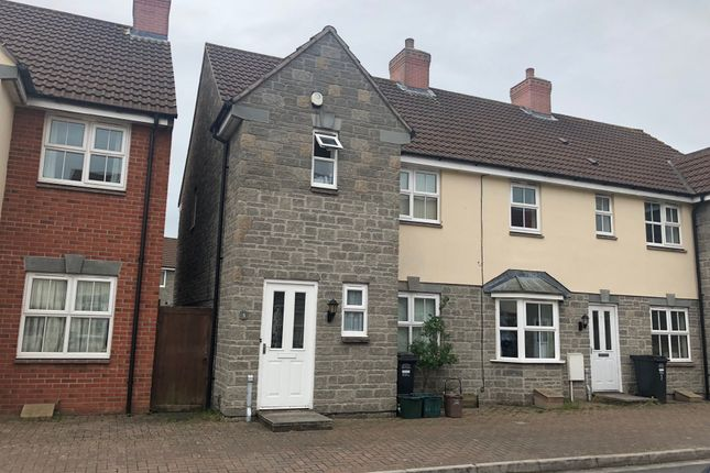 Thumbnail End terrace house to rent in Riverside Close, Weston Super Mare