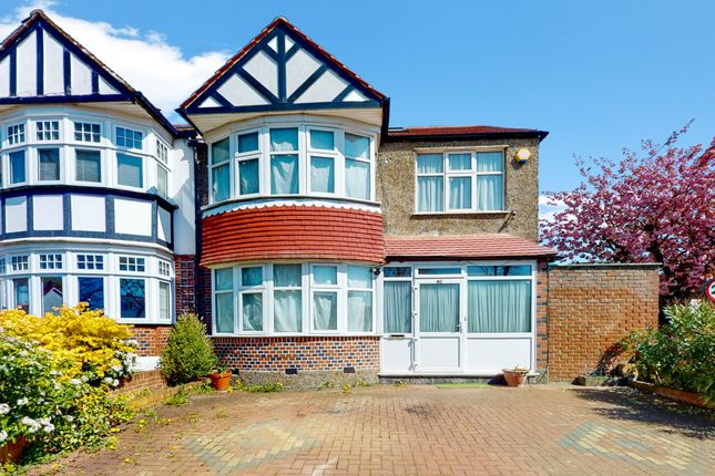 Thumbnail End terrace house for sale in South Norwood Hill, London