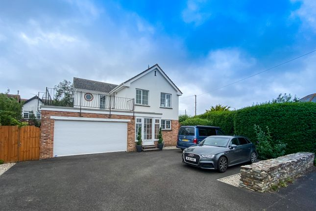 Thumbnail Detached house for sale in Meadow Drive, Bude