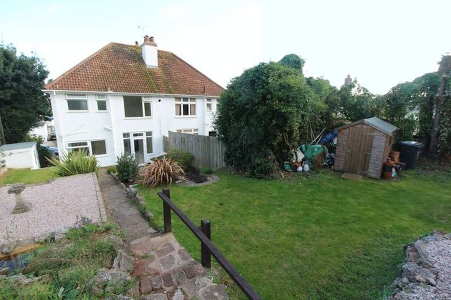 3 bed semi-detached house for sale in David Road, Paignton