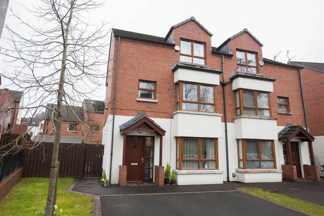 Thumbnail Semi-detached house for sale in 12, Redwood Grove, Belfast
