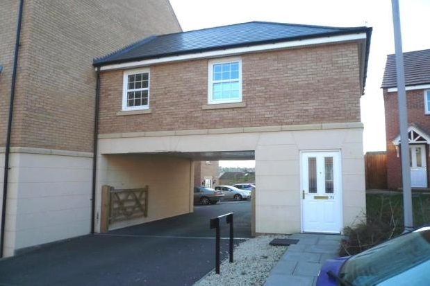 Thumbnail Flat to rent in Stowe Drive, Rugby