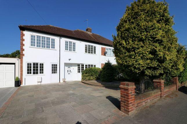 Thumbnail Semi-detached house for sale in Pettits Lane, Romford