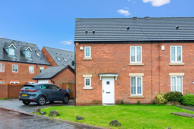 Thumbnail Semi-detached house for sale in Gibson Close, Kirkby, Liverpool