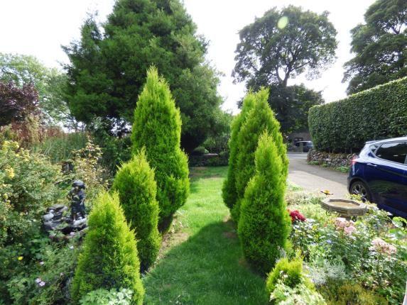 Front Garden of Hernstone Lane, Peak Forest, Buxton, Derbyshire SK17