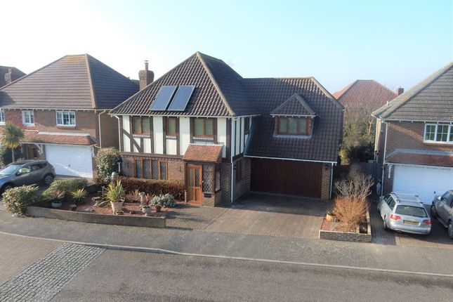 Thumbnail Detached house for sale in The Pasture, Hawkinge, Folkestone