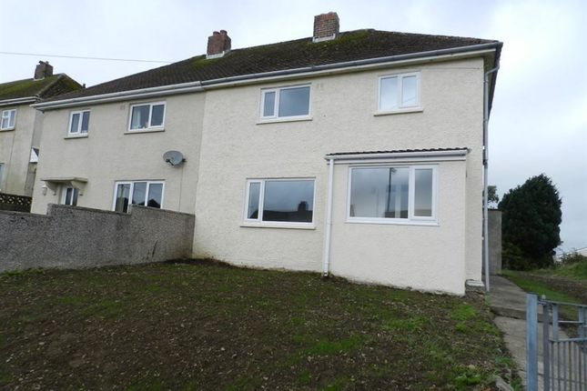 Thumbnail Semi-detached house to rent in Hawthorn Rise, Haverfordwest, Pembrokeshire
