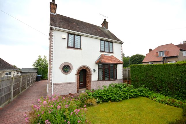 Thumbnail 3 bed detached house for sale in Walton Road, Walton, Chesterfield