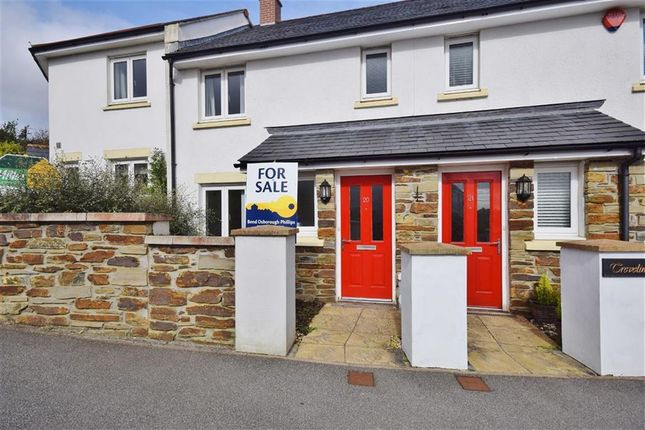 Thumbnail Terraced house for sale in Greenwix Parc, St Mabyn, Cornwall