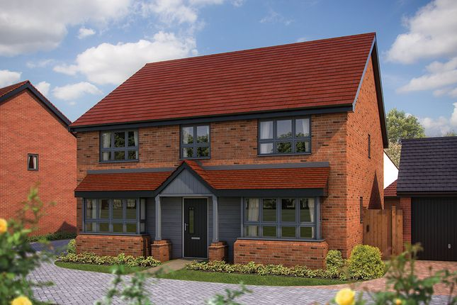 "Thumbnail Detached house for sale in ""The Winchester"" at Barrosa Way, Whitehouse, Milton Keynes"