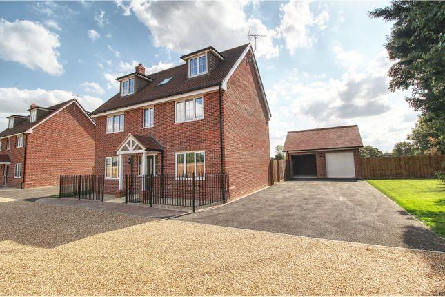 Thumbnail Detached house for sale in Cootes Lane, Fen Drayton, Cambridge