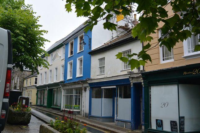 Thumbnail Terraced house to rent in Lower Market Street, Penryn