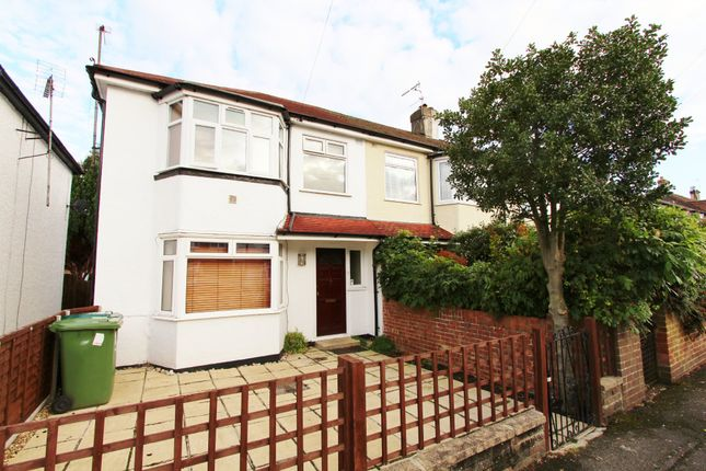Thumbnail Semi-detached house to rent in Stainash Crescent, Staines