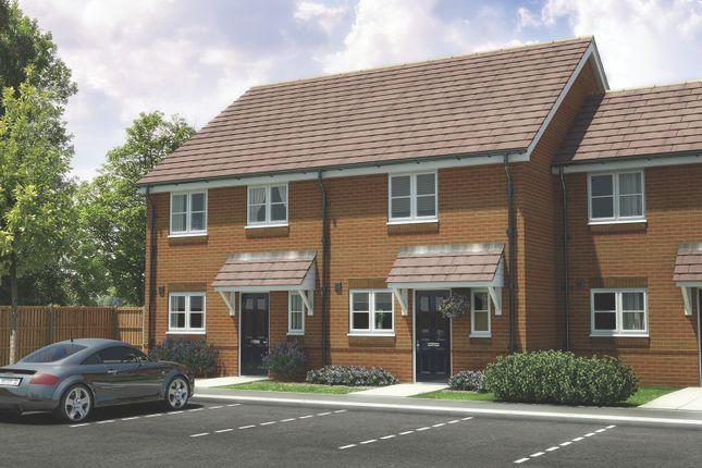 Thumbnail End terrace house for sale in Oak Tree Court, Ferndown